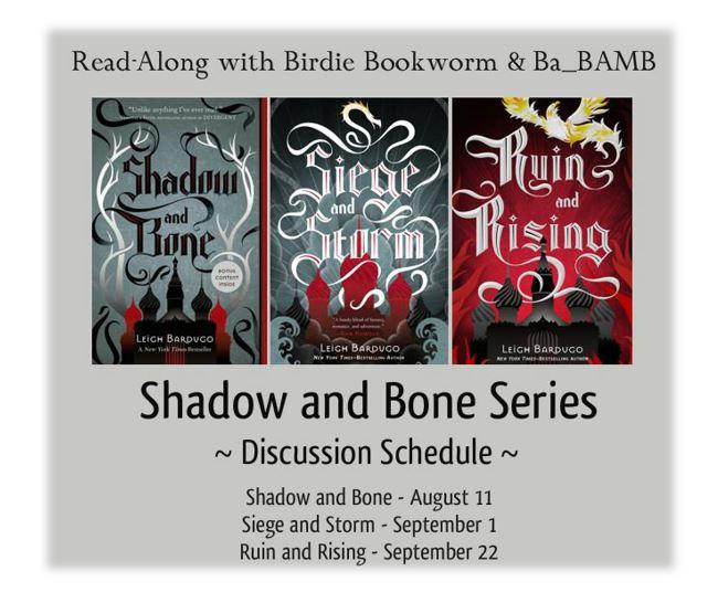 Shadow and Bone Read Along 1