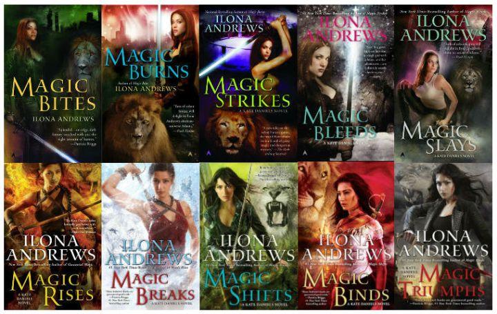 Kate Daniels (Full Series, Including Short Stories) - Ilona Andrews