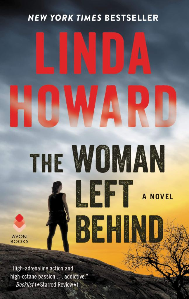 Book Cover - The Woman Left Behind by Linda Howard